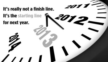 2013 Concept New Year Clock