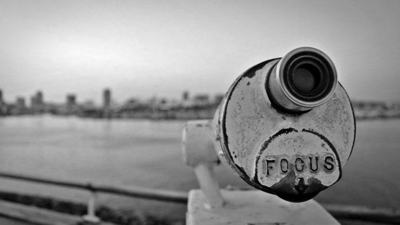 Focus Image-B&W