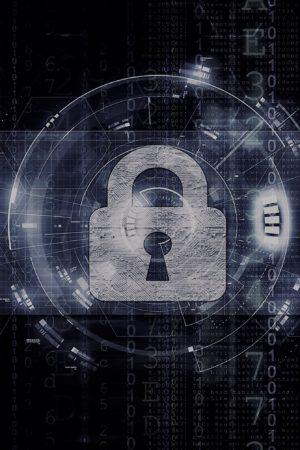 Network & Computer security artwork 2 dark